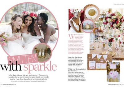Wedding Inspirations Smitten With Sparkle 1
